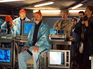 Seu Jorge , Owen Wilson , Bill Murray , Bud Cort and Cate Blanchett in Touchstone Pictures' The Life Aquatic with Steve Zissou