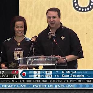 New Orleans Saints pick running back Marcus Murphy No. 230 in 2015 NFL Draft