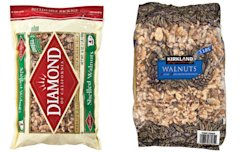 Diamond walnuts vs. Kirkland
