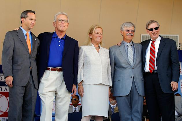 2012 Baseball Hall of Fame Induction Ceremony