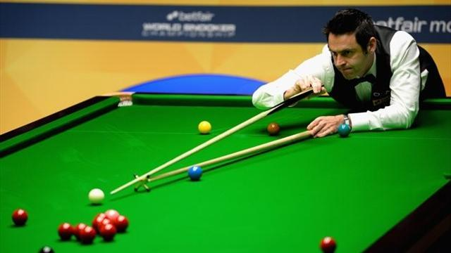 Snooker - O'Sullivan back with a bang in Sheffield