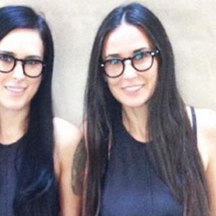 Demi Moore and Rumer Willis Are 'Twinning'!