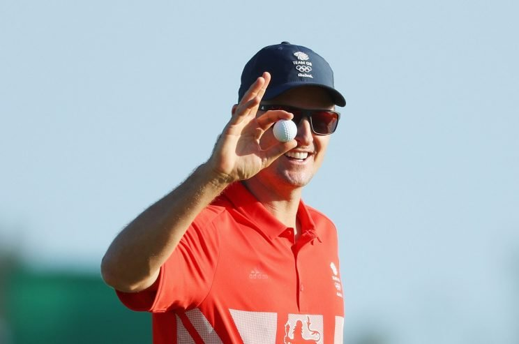 Justin Rose carries a lead into the final round in Rio. (Getty Images)