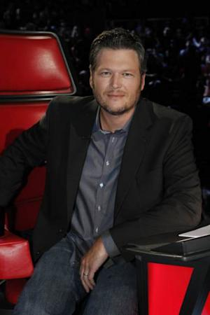 Blake Shelton in his coaches chair on 'The Voice,' June 17, 2013 -- NBC
