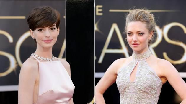 Anne Hathaway/Amanda Seyfried -- Getty Images / WireImage