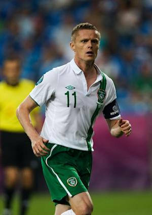 Damien Duff retired from international football after Euro 2012