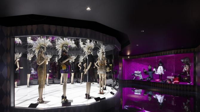 The 'Louis Vuitton - Marc Jacobs' exhibition at the Musée des Arts Décoratifs in Paris