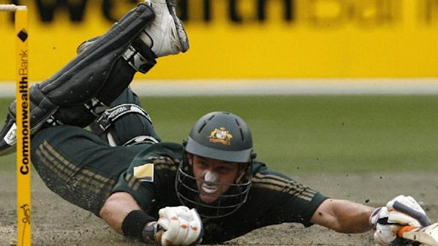 CRICKET; Mike Hussey, Australia, Feb 2008