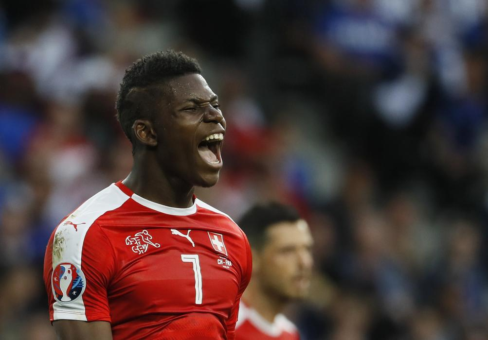 Switzerland's Breel Embolo
