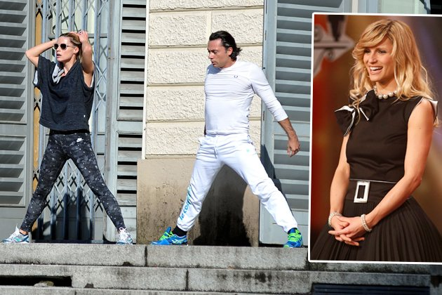 Hier sportelt TV-Star Michelle Hunziker! (Bilder: Splash, ddp Images)