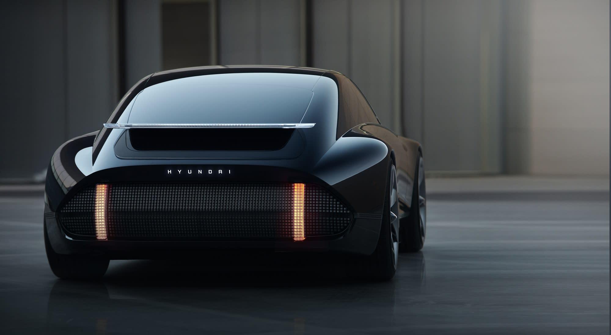 2020日內瓦車展 —比電玩更科幻 Hyundai Prophecy Concept EV