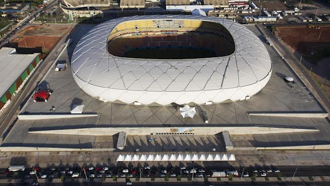 World Cup - Fears over Manaus pitch for England-Italy match
