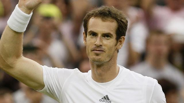 Wimbledon - Murray beats Youzhny to make quarter-finals