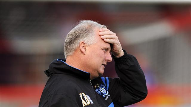 Football - Bury down after Oldham defeat