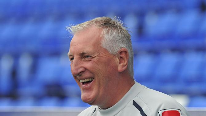 Ronnie Moore is enjoying his side's strong start, but revealed that a lack of strength in depth could become a concern