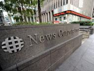 The News Corporation building in New York, in June 2012. The new Spanish-language broadcast network MundoFox -- a joint venture of News Corp and RCN Television Group of Colombia -- began broadcasting Monday with the goal of reaching the growing US Hispanic market