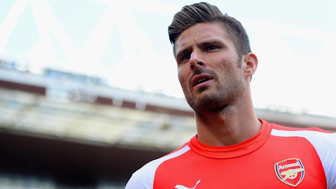 Premier League - Giroud set to be out until 2015, Wenger won't panic buy