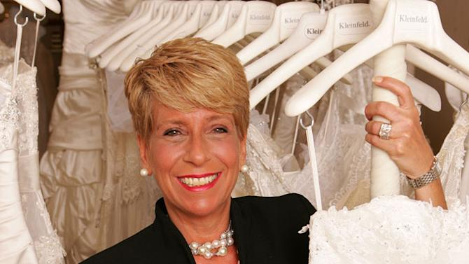 """Audrey, a bridal consultant at Kleinfeld Bridal, on """"Say Yes to the Dress."""""""