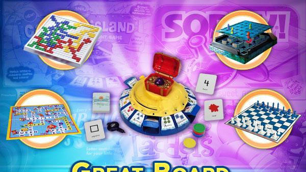 Great board games for kids