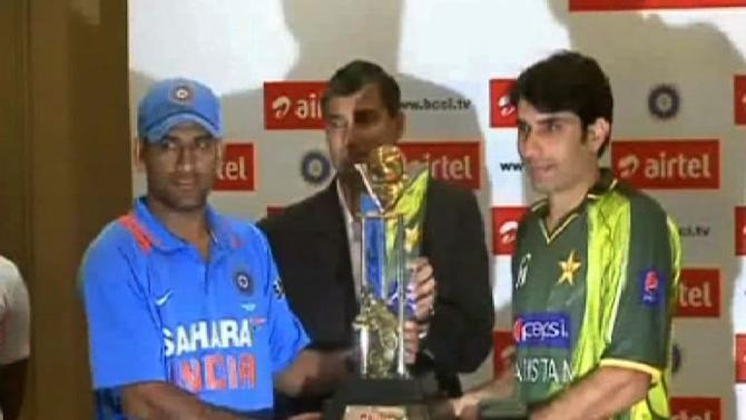 ODI Trophy unveiling ceremony