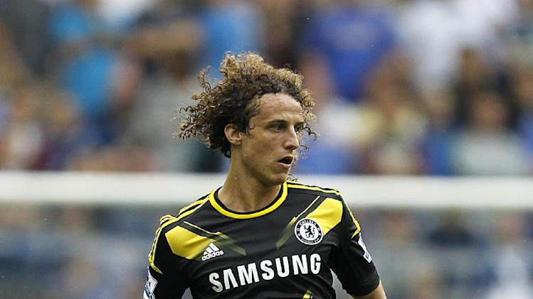 David Luiz has ruled himself out against Reading with a knee injury