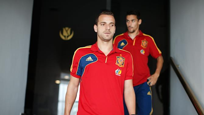 Spain Training and Press Conference - FIFA Confederations Cup Brazil 2013