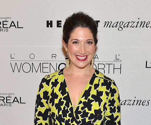 """Randi Zuckerberg attends Seventh Annual Women Of Worth Awards at Hearst Tower on December 6, 2012 in New York City. Facebook co-founder Mark Zuckerberg's sister evidently tripped on the social network's privacy settings, landing in the midst of a debate on Wednesday about """"online etiquette."""""""