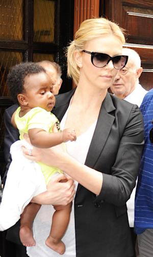 Charlize Theron: My Favorite Parenting Book Is 'Go the F-ck to Sleep'