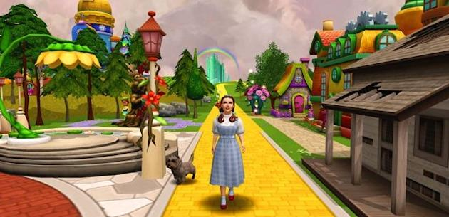 """THE WIZARD OF OZ"" game screenshot"