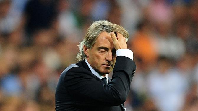 Roberto Mancini took responsibility for Manchester City's defeat at Ajax