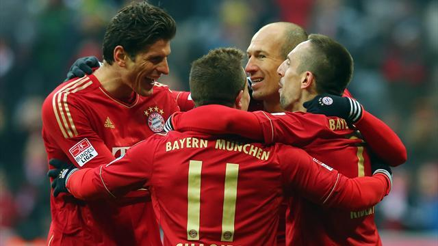 German Bundesliga  - Unstoppable Bayern annihilate Bremen