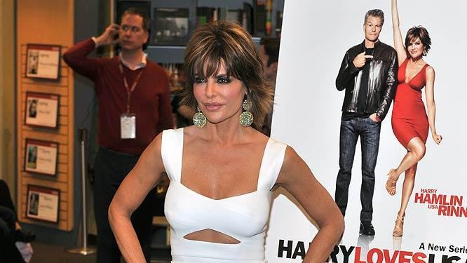 Lisa Rinna Book Signing