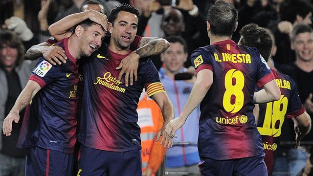 Spanish Liga - Barcelona celebrate title with Atletico comeback win