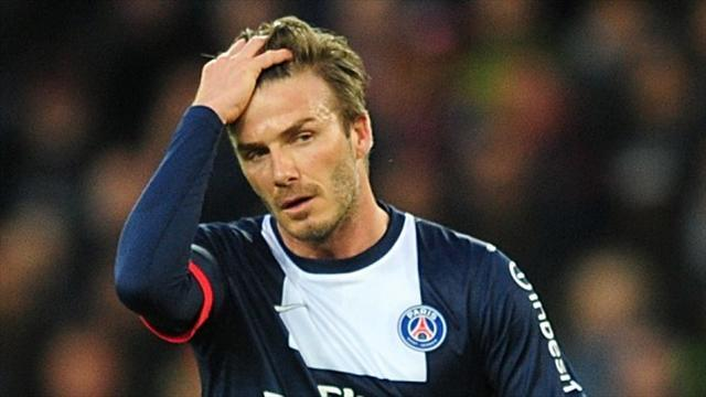 American Football - David Beckham in the NFL? About as likely as Victoria Beckham winning a Grammy