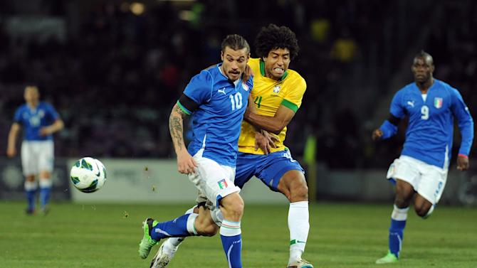 Italy v Brazil - International Friendly