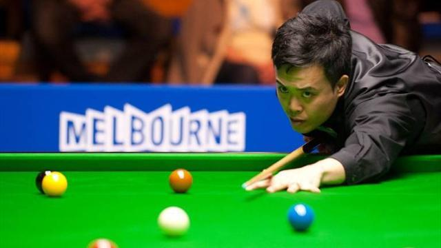 Snooker - Fu crashes out to amateur in first round at Barbican