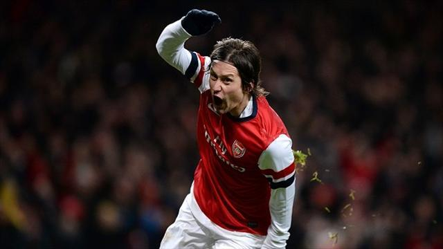 Premier League - Rosicky will stay - Wenger