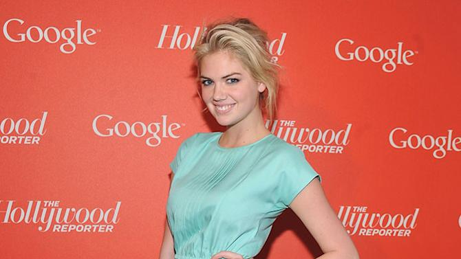 Google & Hollywood Reporter Host An Evening Celebrating The White House Correspondents' Weekend - Red Carpet: Kate Upton