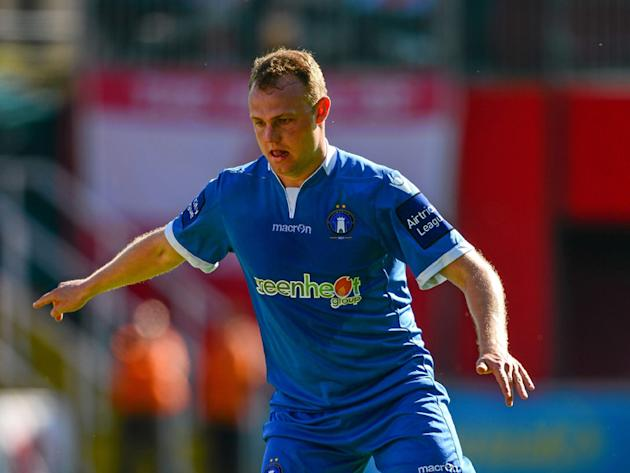 WATCH: Robbie Williams scores stunning volley for Limerick