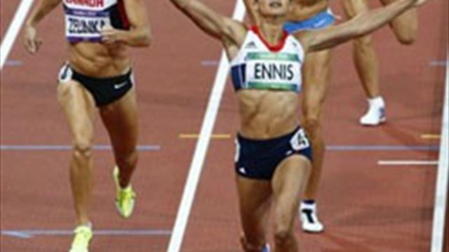 Olympic Games - Ennis' delight at Olympic Stadium being used for Grand Prix