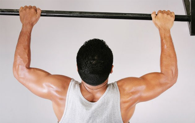 Having strong trunk control is essential for doing pull-ups. (Thinkstock photo)