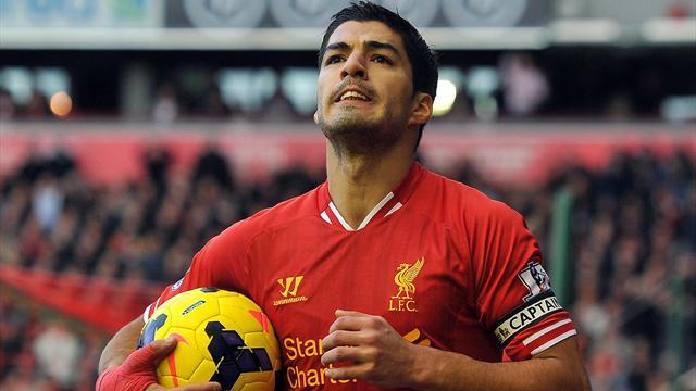 Premier League - Suarez confident of Reds' prospects