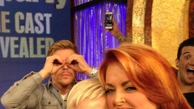 Derek Hough, Kellie Pickler and Wynonna Judd