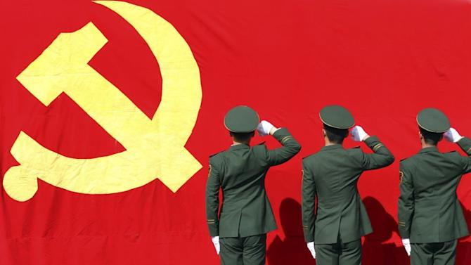 Colourful photos of China's Communist Party Congress