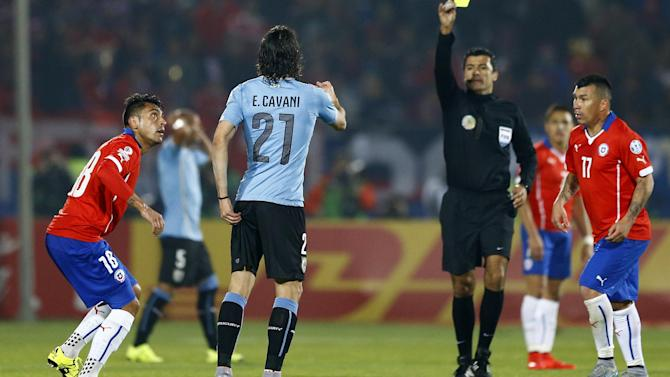 Copa América - Chile's Gonzalo Jara gets three-match ban for finger incident