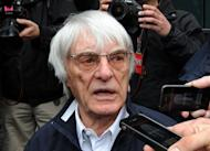 Formula One boss Bernie Ecclestone, pictured in April 2012, has offered to stump up £35 million ($54.5 million) to stage a grand prix around London's famous streets, the Times reported Thursday