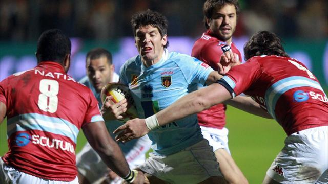 Top 14 - Perpignan grind out win over Racing Metro