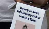 Lottery: Last Gasp Search For £12m Winner