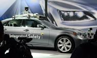 Driverless car concept gains traction at CES