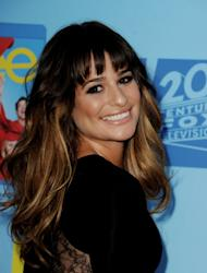 Lea Michele arrives at the premiere of Fox Television's 'Glee' at Paramount Studios in Los Angeles on September 12, 2012 -- Getty Images